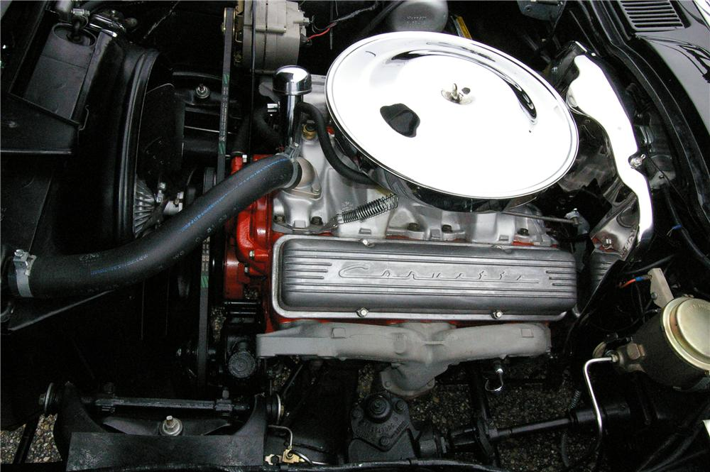 1965 CHEVROLET CORVETTE CONVERTIBLE - Engine - 49529