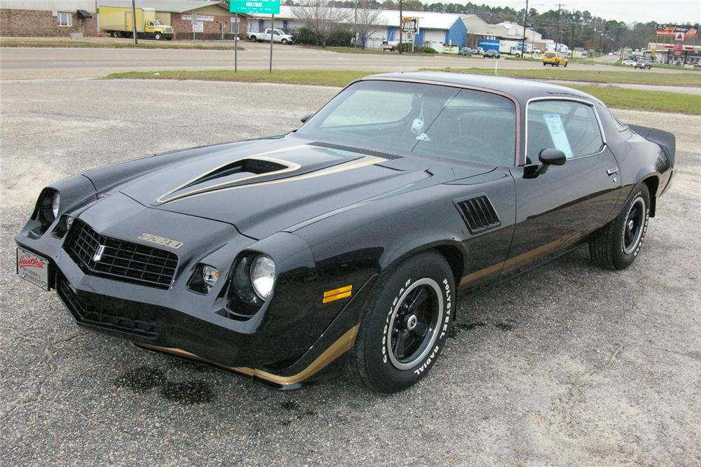 1979 CHEVROLET CAMARO Z/28 COUPE - Front 3/4 - 49531