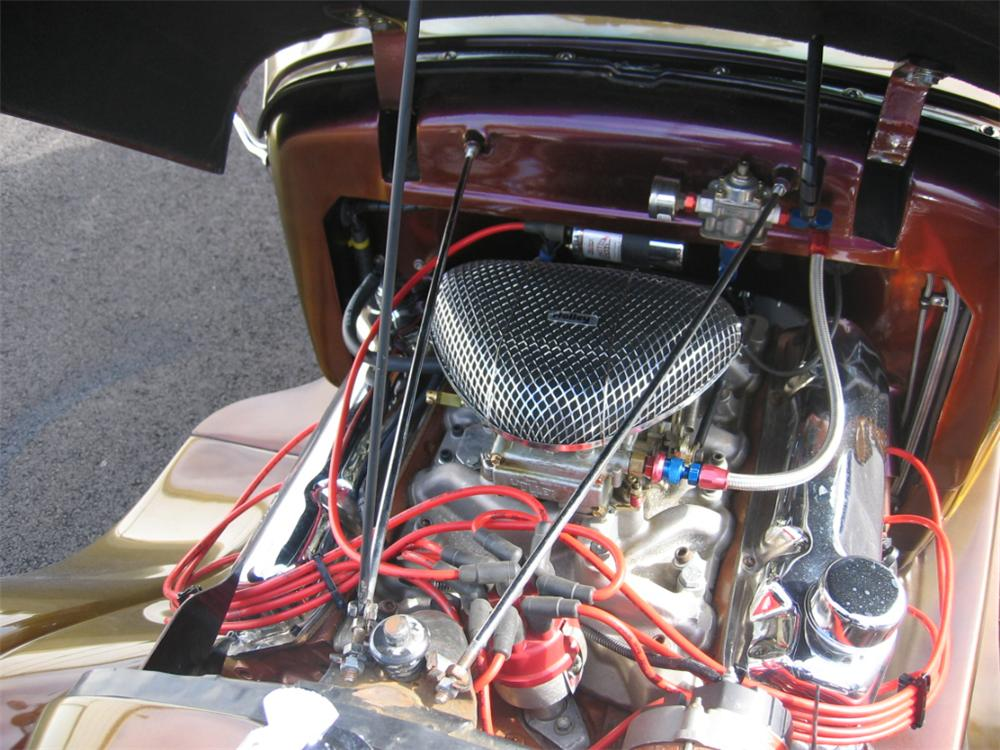 1929 FORD CUSTOM ROADSTER HOT ROD - Engine - 49532