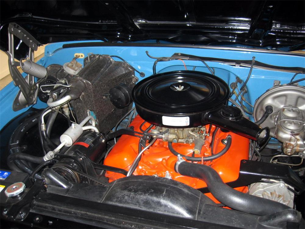 1972 CHEVROLET CHEYENNE SHORT BED PICKUP - Engine - 49533