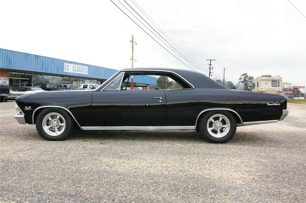 1966 CHEVROLET CHEVELLE SS 396 2 DOOR HARDTOP - Side Profile - 49535
