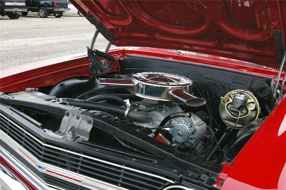 1965 CHEVROLET CHEVELLE SS 2 DOOR HARDTOP - Engine - 49536