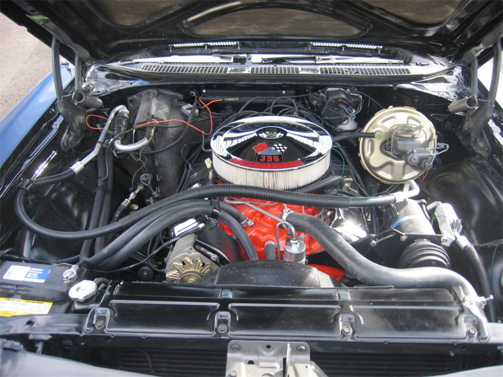 1969 CHEVROLET CHEVELLE SS 396 CONVERTIBLE - Engine - 49537