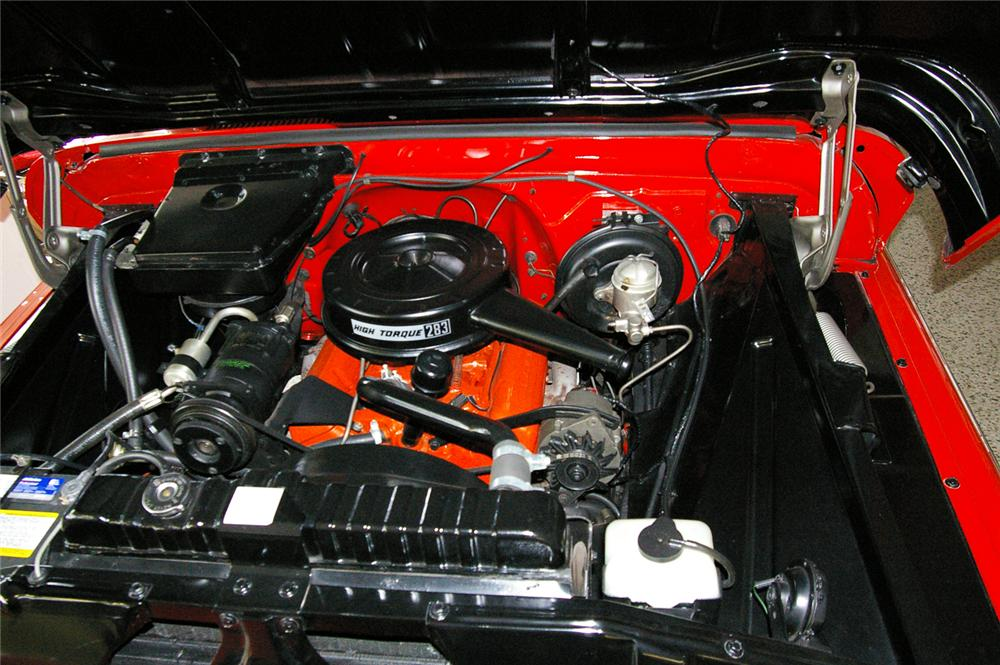 1966 CHEVROLET CUSTOM PICKUP - Engine - 49538