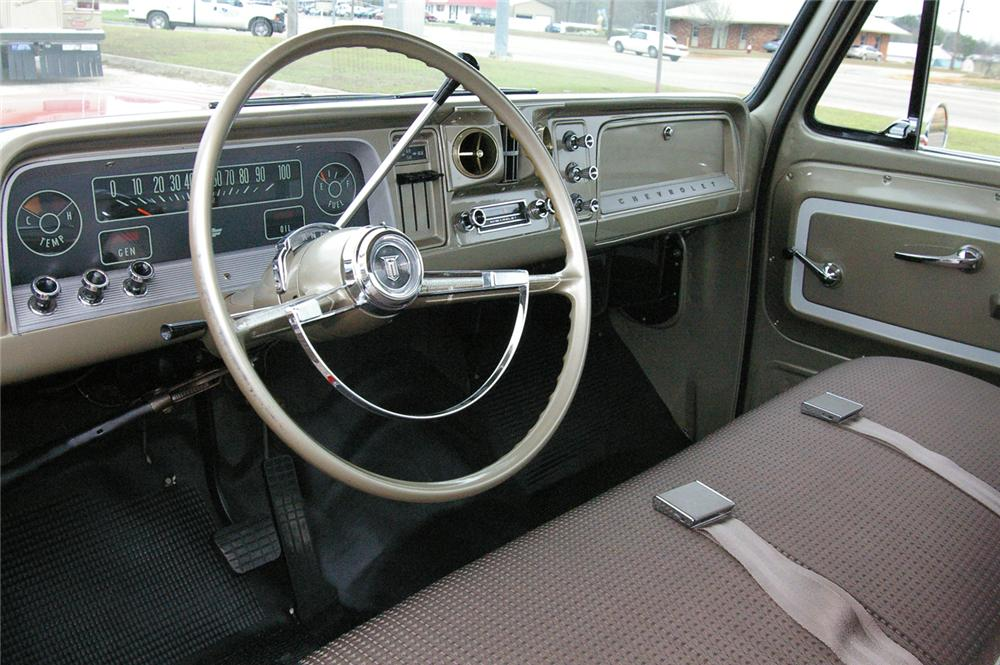 1966 CHEVROLET CUSTOM PICKUP - Interior - 49538