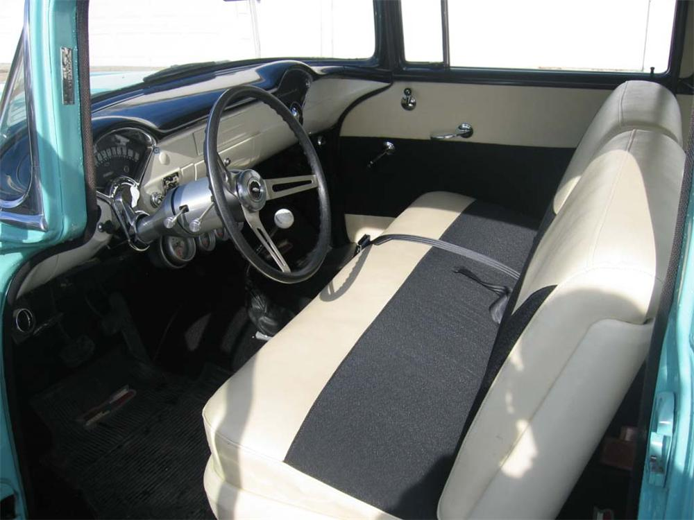 1956 CHEVROLET 150 CUSTOM 2 DOOR HARDTOP - Interior - 49540