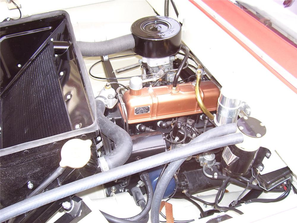 1968 AMPHICAR 770 CONVERTIBLE - Engine - 49542