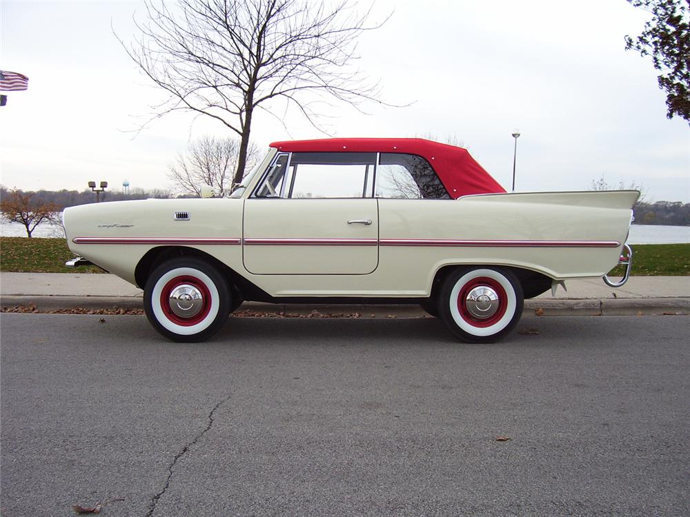 1968 AMPHICAR 770 CONVERTIBLE - Side Profile - 49542