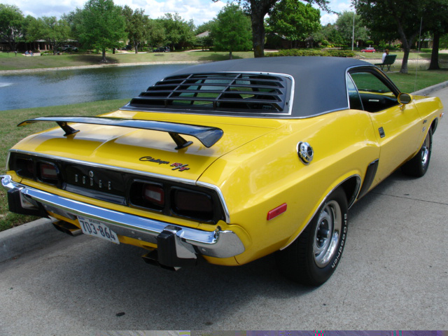 1973 DODGE CHALLENGER R/T COUPE RE-CREATION - Rear 3/4 - 49545