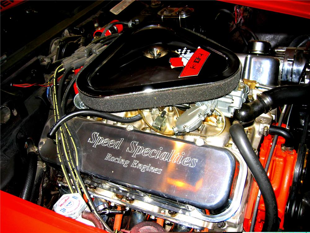 1969 CHEVROLET CORVETTE CONVERTIBLE - Engine - 49555