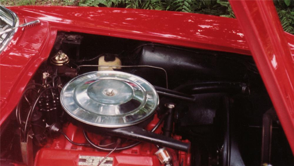 1964 CHEVROLET CORVETTE CONVERTIBLE - Engine - 49557