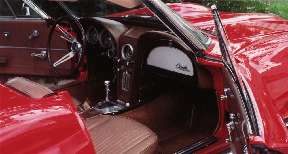 1964 CHEVROLET CORVETTE CONVERTIBLE - Interior - 49557