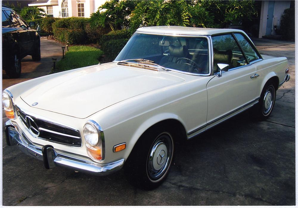 1969 mercedes benz 280sl coupe hardtop 49559 for Mercedes benz pay bill