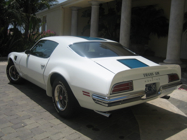 1970 PONTIAC TRANS AM COUPE - Rear 3/4 - 49563