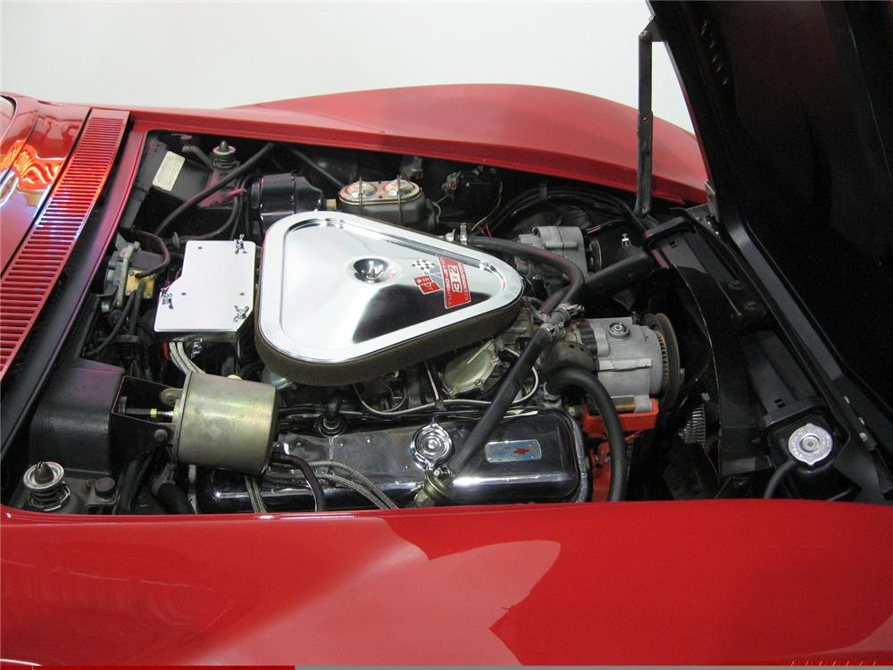 1968 CHEVROLET CORVETTE CONVERTIBLE - Engine - 49565