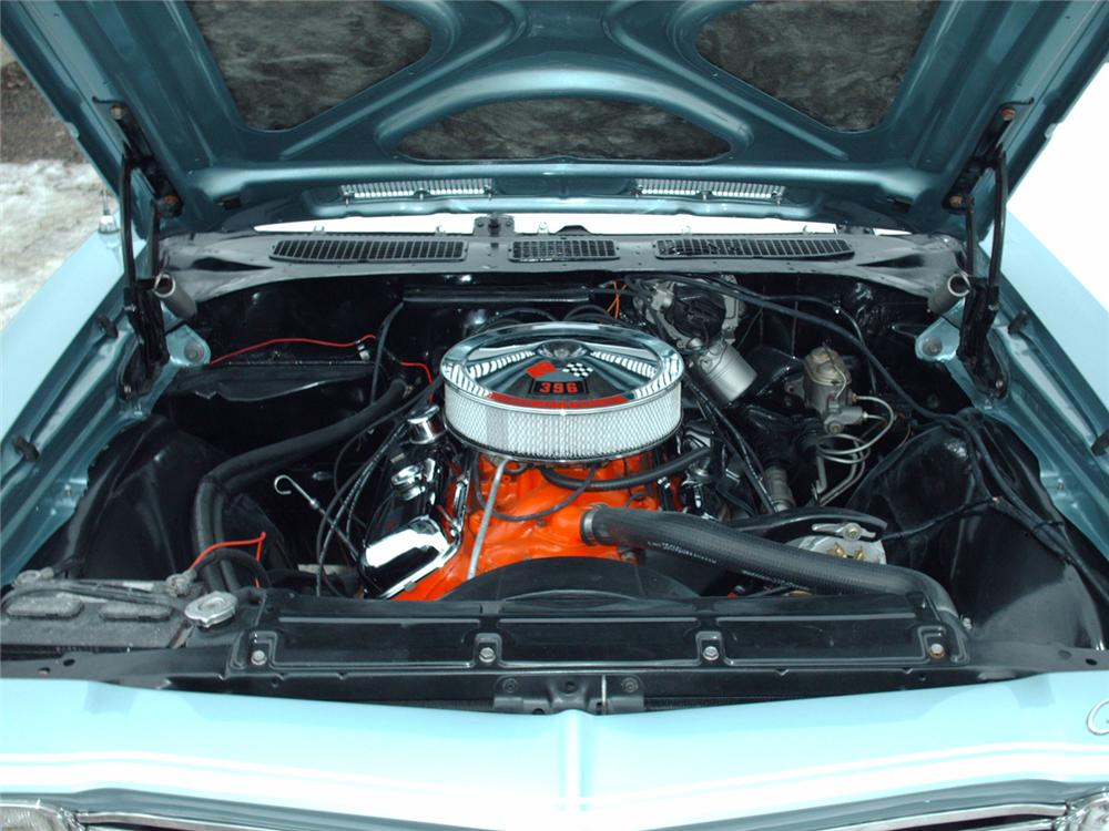 1968 CHEVROLET CHEVELLE SS 2 DOOR COUPE - Engine - 49570