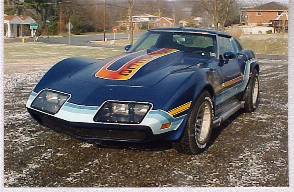 1970 CHEVROLET CORVETTE COUPE - Front 3/4 - 49590