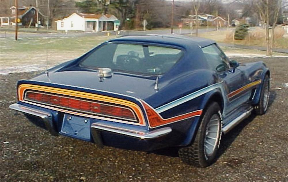 1970 CHEVROLET CORVETTE COUPE - Rear 3/4 - 49590