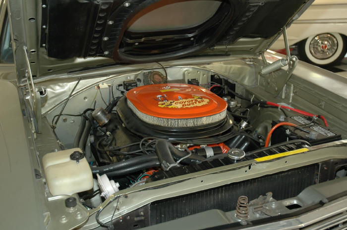 1969 PLYMOUTH ROAD RUNNER 2 DOOR - Engine - 49591