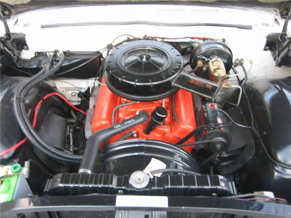 1961 CHEVROLET IMPALA CONVERTIBLE - Engine - 49595