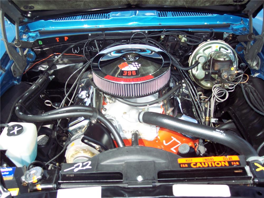 1969 CHEVROLET CAMARO RS/SS CONVERTIBLE - Engine - 49596