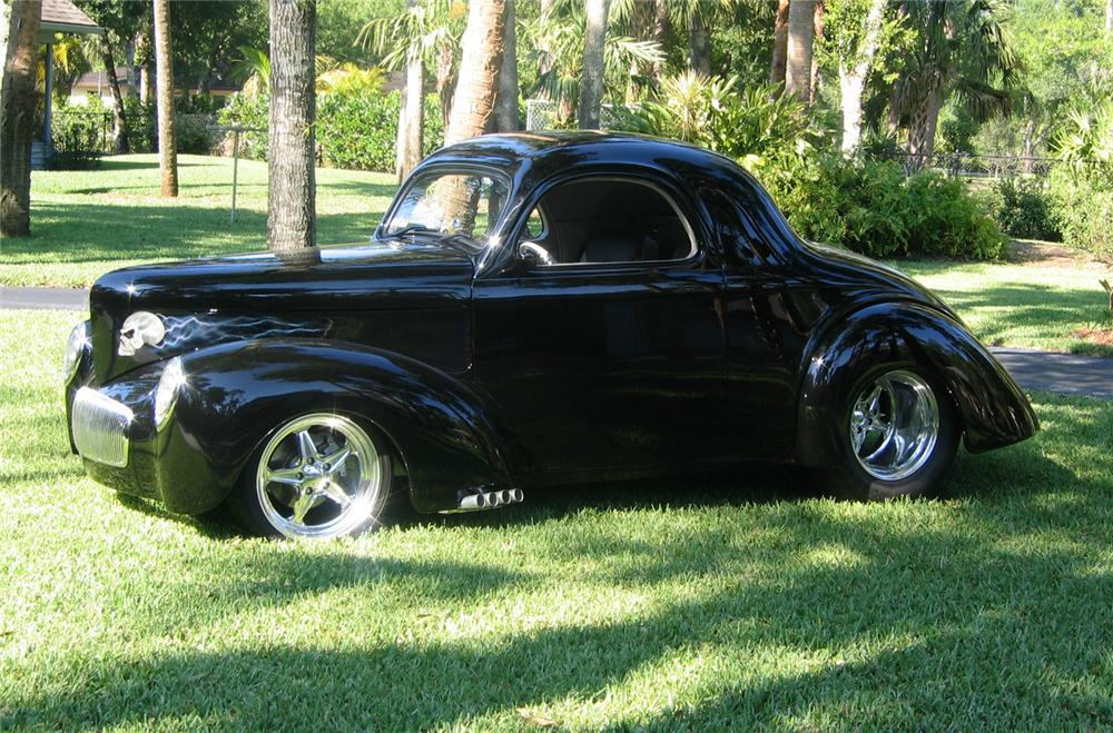 1941 Willys Custom Coupe 49599