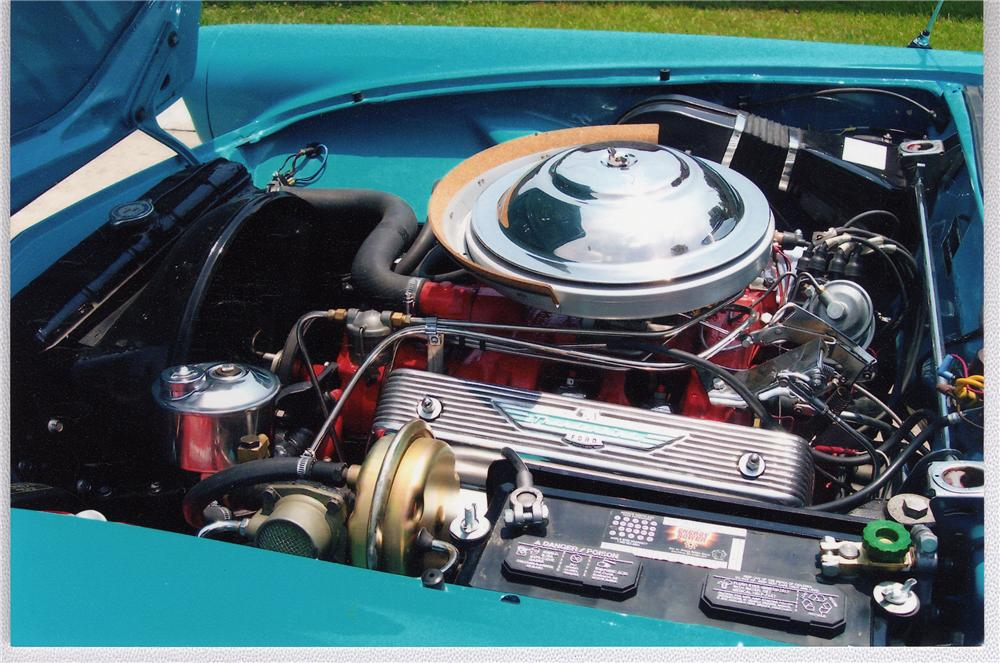 1956 FORD THUNDERBIRD CONVERTIBLE - Engine - 49607