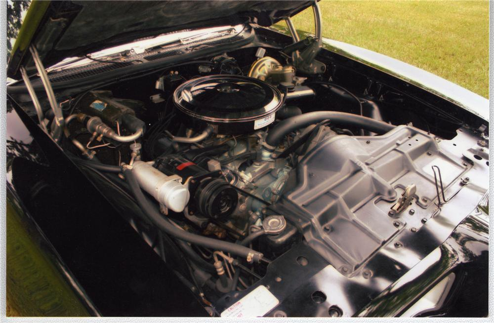1968 PONTIAC GTO CONVERTIBLE - Engine - 49608