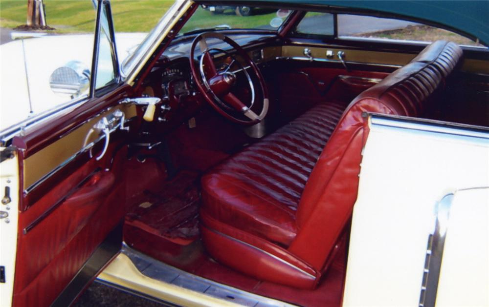 1953 CADILLAC SERIES 62 CONVERTIBLE - Interior - 49609