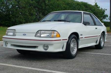 1990 FORD MUSTANG GT 2 DOOR HATCHBACK - Front 3/4 - 49610