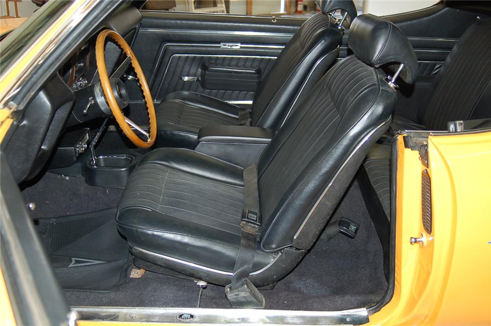 1970 PONTIAC GTO JUDGE COUPE - Interior - 49612