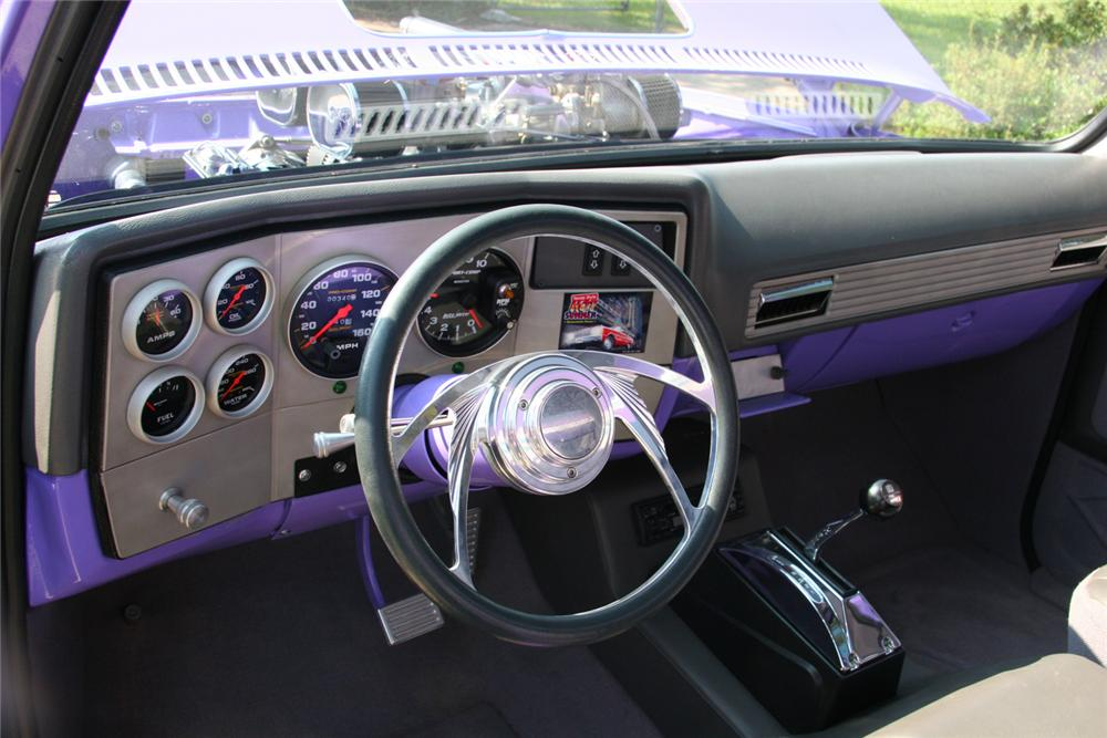 1973 CHEVROLET PICKUP - Interior - 49616