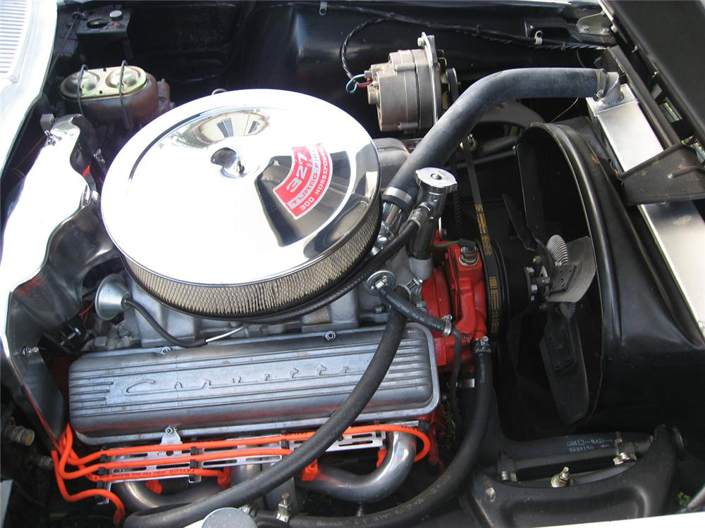 1963 CHEVROLET CORVETTE CONVERTIBLE - Engine - 49619