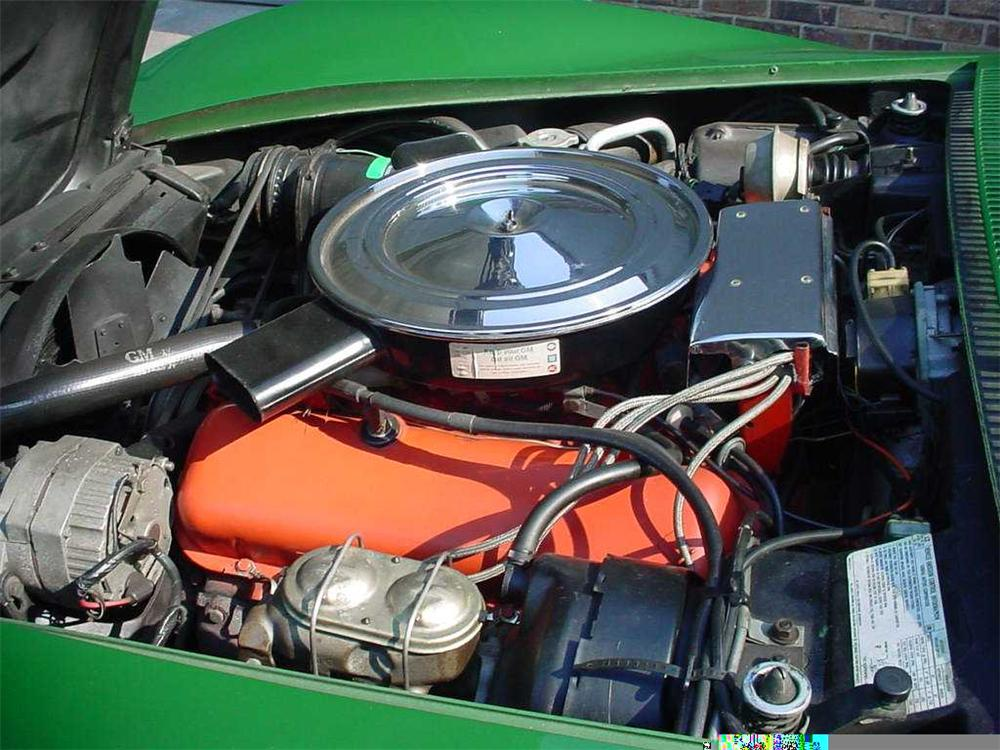 1972 CHEVROLET CORVETTE COUPE - Engine - 49620