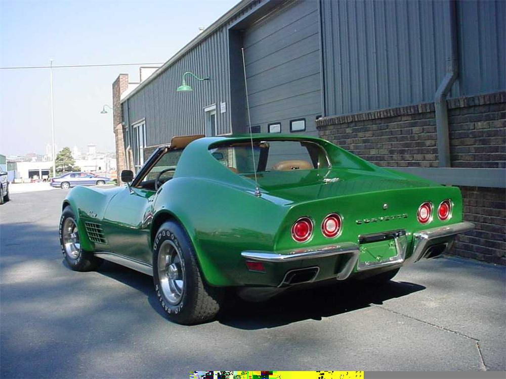 1972 CHEVROLET CORVETTE COUPE - Rear 3/4 - 49620