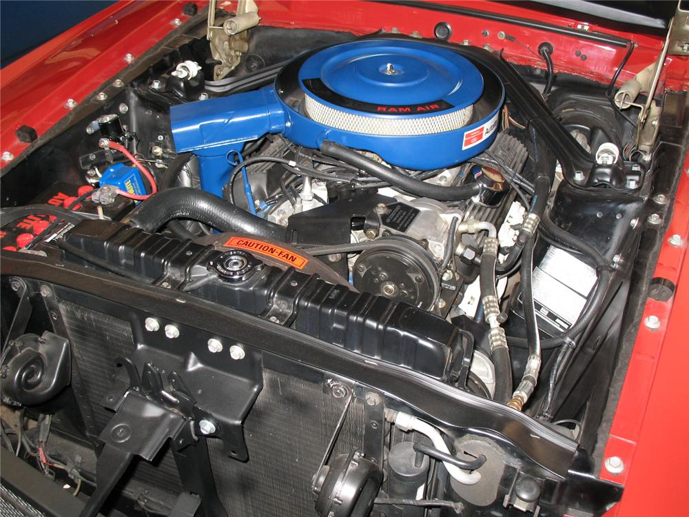 1969 SHELBY GT350 FASTBACK - Engine - 49621