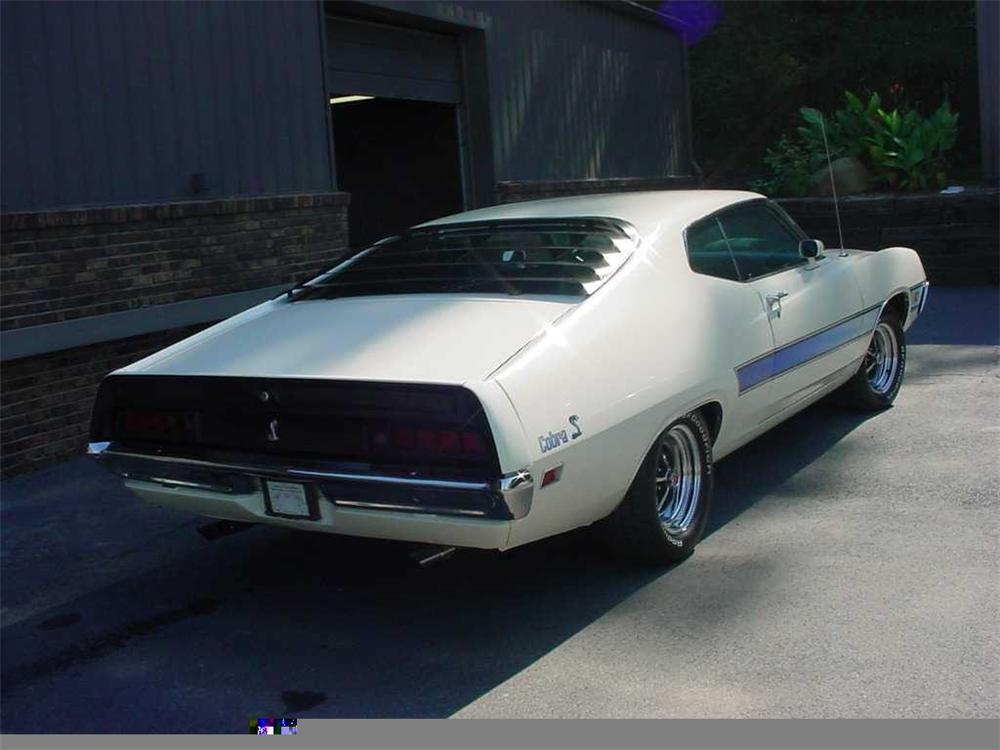 1971 FORD TORINO SPORT COUPE - Rear 3/4 - 49624