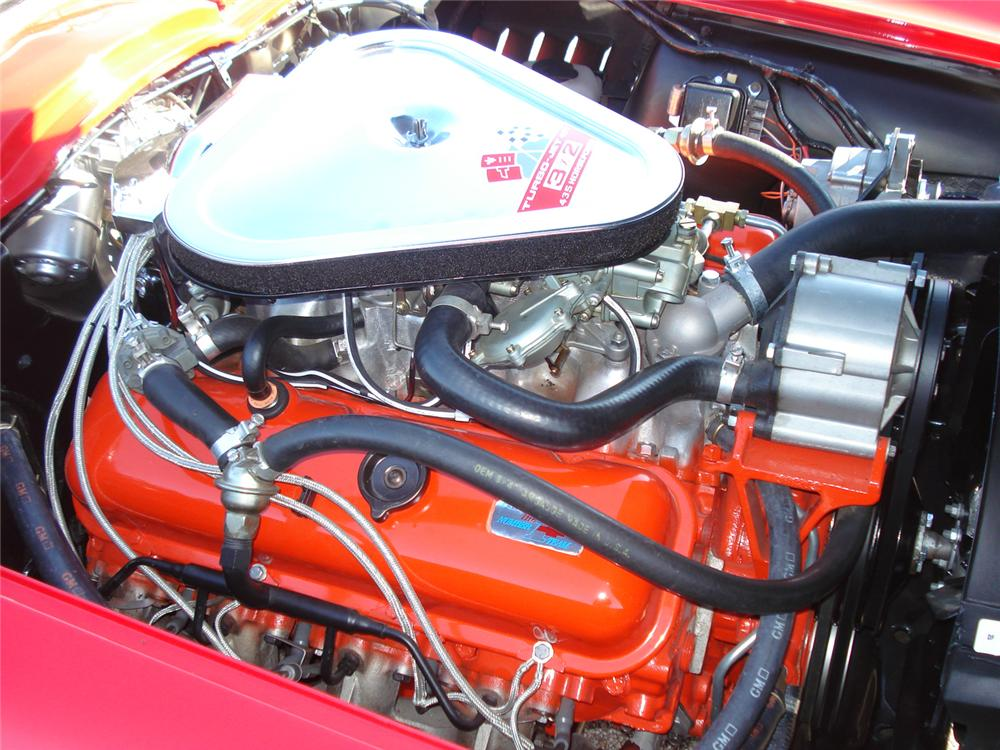 1967 CHEVROLET CORVETTE CONVERTIBLE - Engine - 49628