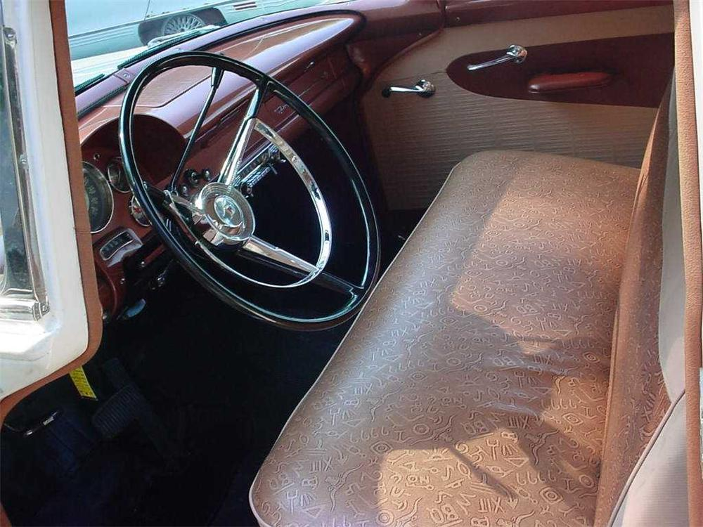 1956 FORD COUNTRY SEDAN STATION WAGON - Interior - 49629