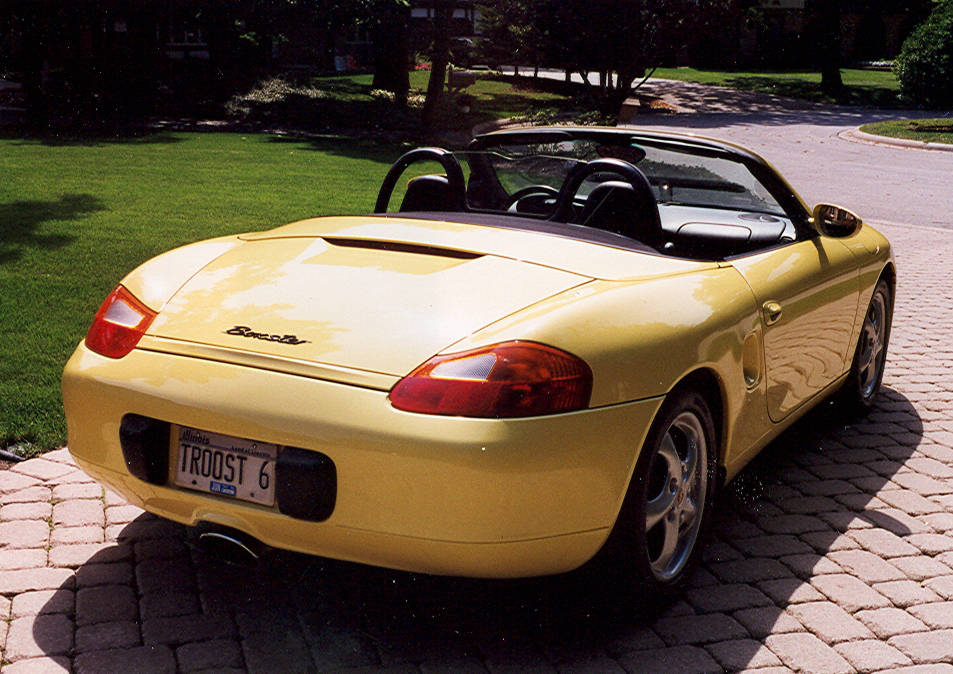 1997 PORSCHE BOXSTER CONVERTIBLE - Rear 3/4 - 49646