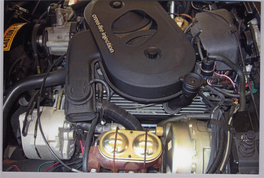 1982 CHEVROLET CORVETTE COUPE - Engine - 49647