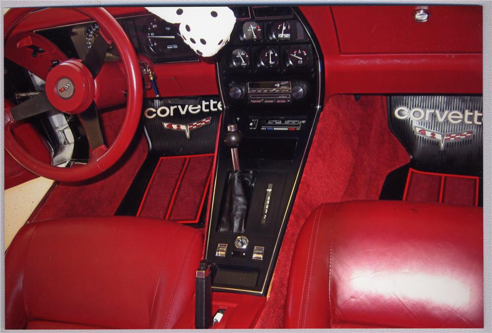 1982 CHEVROLET CORVETTE COUPE - Interior - 49647