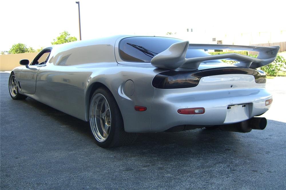 1993 MAZDA RX7 TWIN TURBO LIMOUSINE - Rear 3/4 - 49648