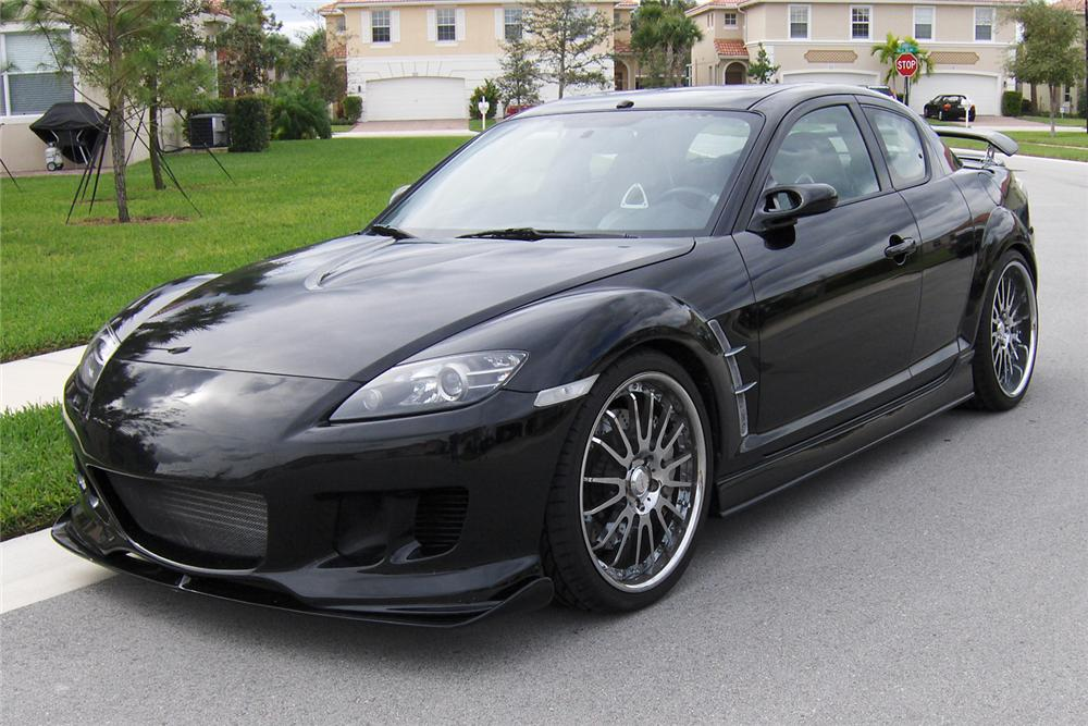 mazda rx8 black 2004. Black Bedroom Furniture Sets. Home Design Ideas