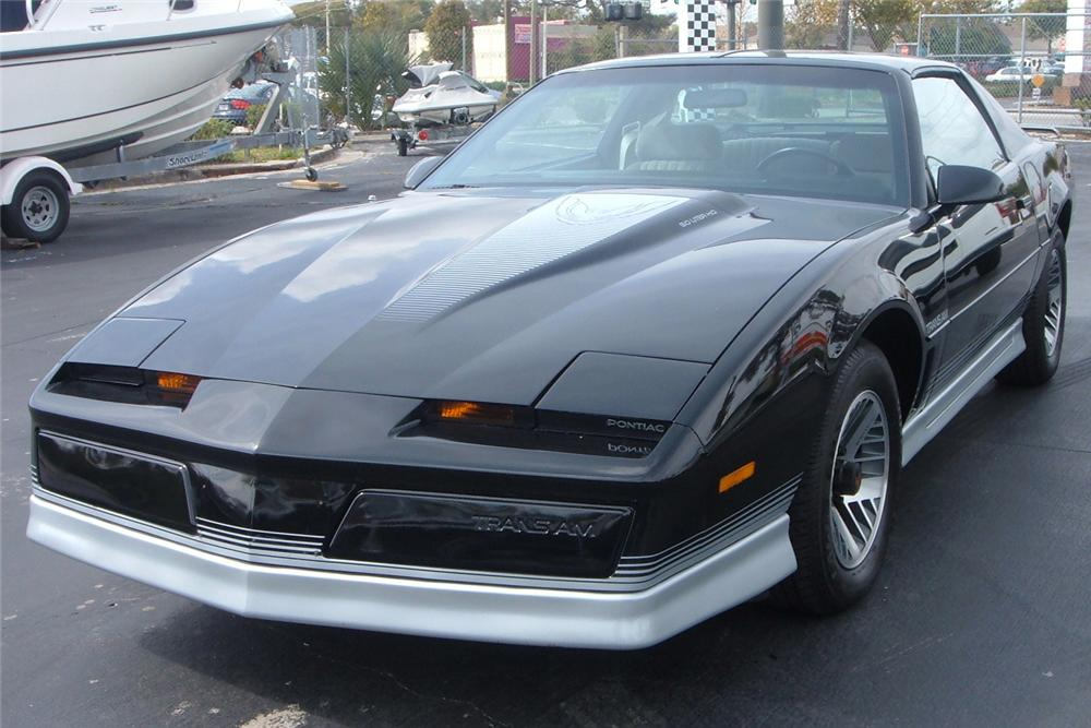 1984 PONTIAC TRANS AM COUPE - Front 3/4 - 49655
