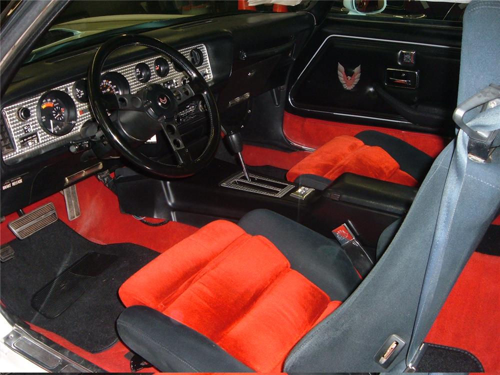 1981 PONTIAC TRANS AM COUPE - Interior - 49656