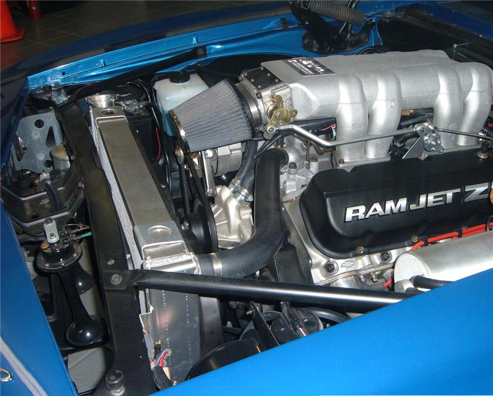 1969 CHEVROLET CAMARO ZL1 COUPE - Engine - 49661