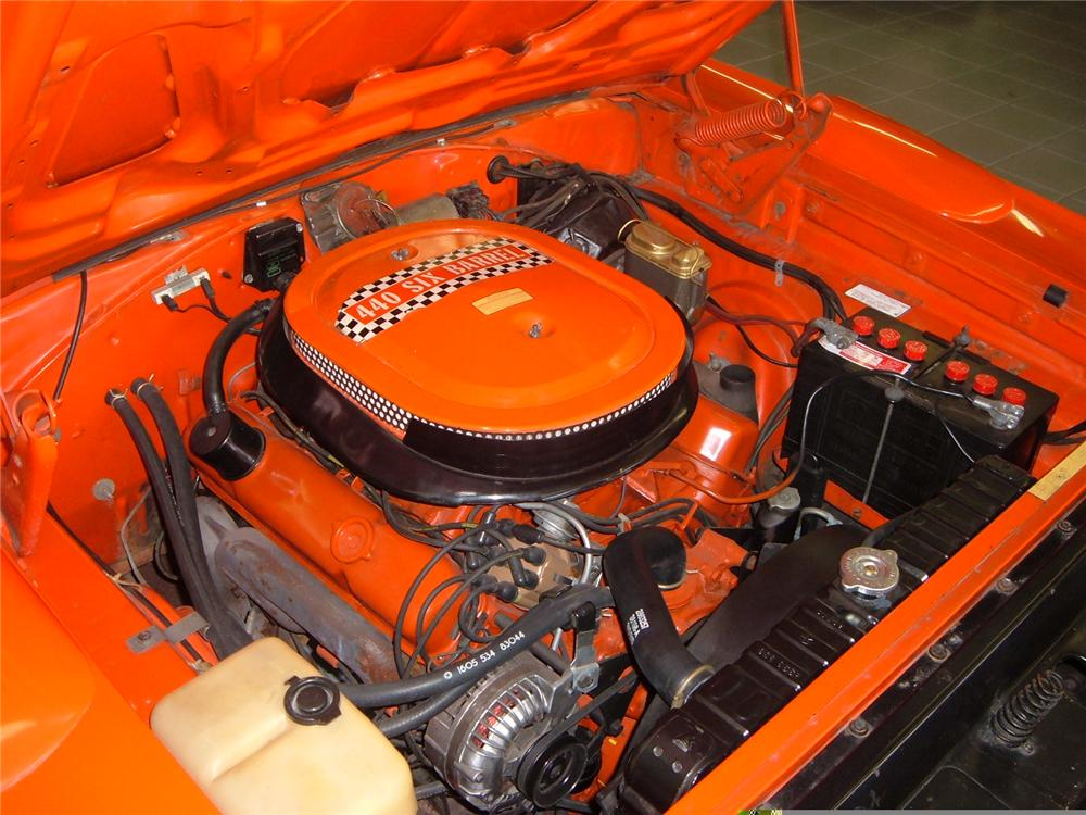 1970 PLYMOUTH SUPERBIRD 2 DOOR HARDTOP - Engine - 49664