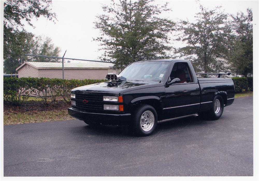 1990 CHEVROLET 1500 CUSTOM PICKUP - Front 3/4 - 49672