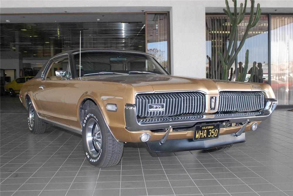 1968 MERCURY COUGAR XR7 COUPE - Front 3/4 - 49676